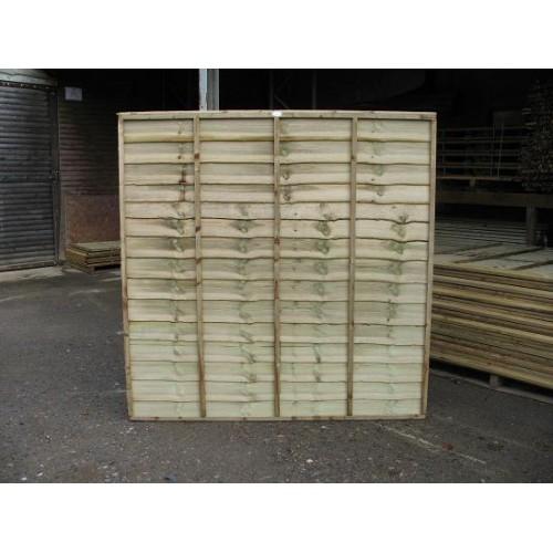 Overlap fence Panel 6' x 6'