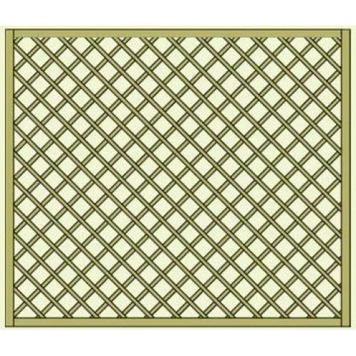 Lavendel Heavy Duty Lattice Panel 1.8m x 1.5m