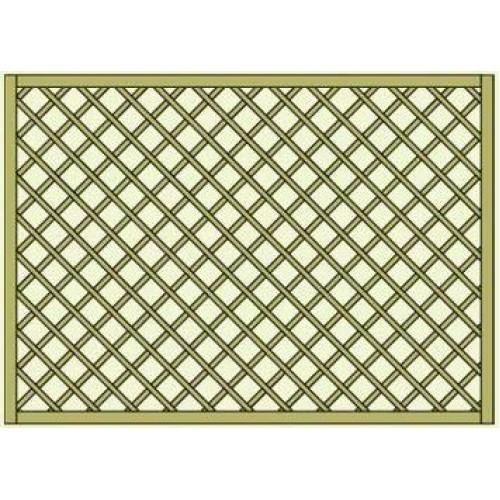 Lavendel Heavy Duty Lattice Panel 1.8m x 1.2m