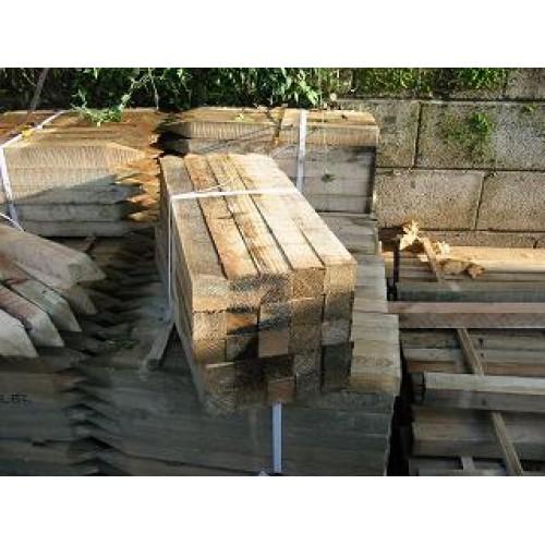0.45m x 50mm x 50mm treated softwood peg
