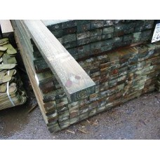 3.6m x 87mm x 38mm treated softwood rail
