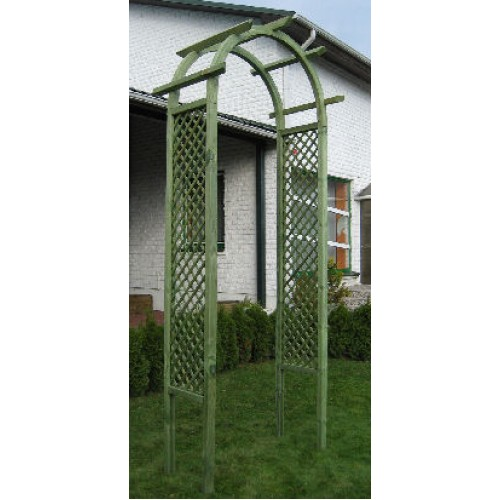 Treated Timber Garden Arch (0.95m x 2.4m x 0.6m)