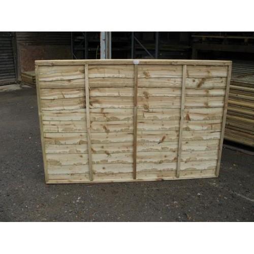 Overlap fence Panel 6' x 4'