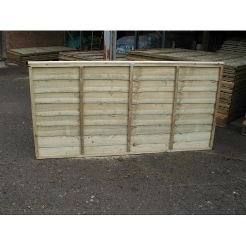 Overlap Fence Panel 6' x 3'