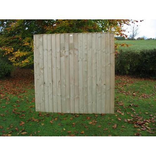 Suffolk Closeboard Panel 6' x 6'