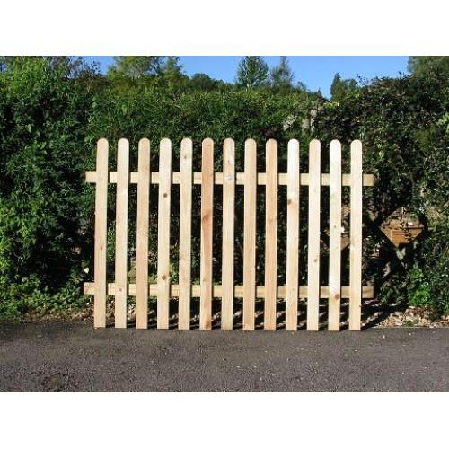 Picket Fence 6' x 4'