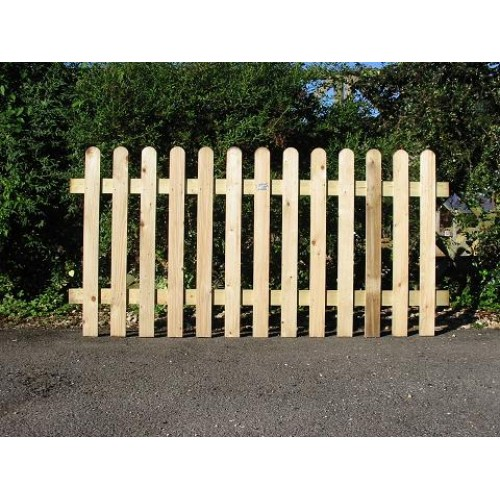 Picket Fence 6' x 3'