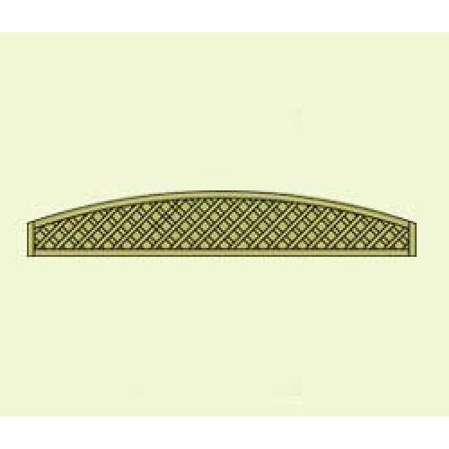 Dastra Lattice Convex 1.83m x 0.3m