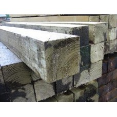 2.4m x 100mm x 100mm treated softwood post