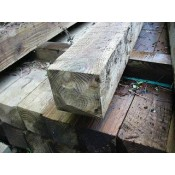 125mm x 125mm pressure treated softwood post (2)