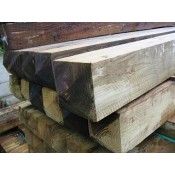 150mm x 150mm pressure treated softwood post (2)