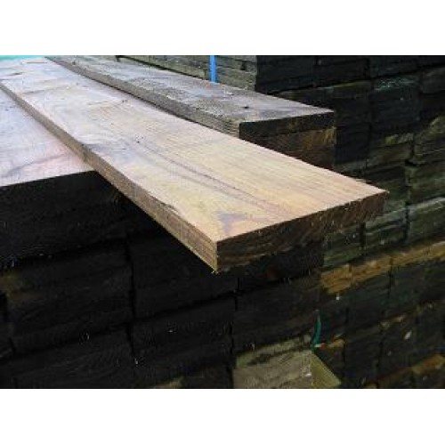 3.0m x 150mm x 22mm treated softwood board