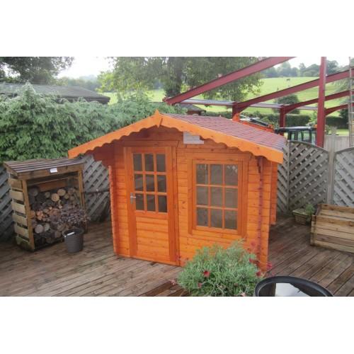 Garden Log Cabin:Lausanne (8 x 8)