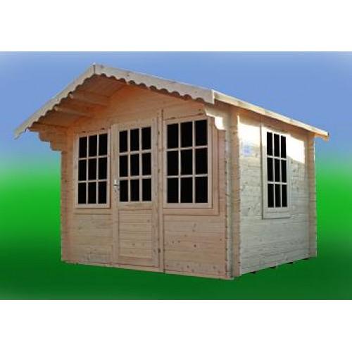 Garden Log Cabin:Lausanne (10 x 10)