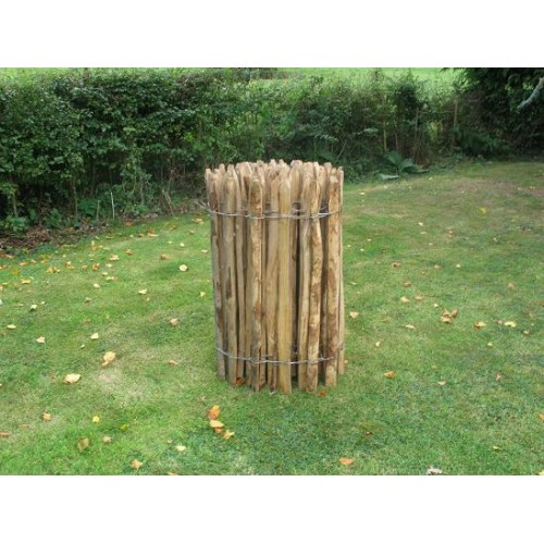 0.9m High Cleft Chestnut Fence in a 10m Roll