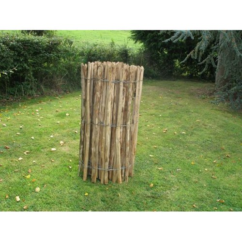 1.22m High Cleft Chestnut Fence in a 10m Roll