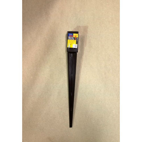 Drive in post support 75mm x 75mm x 600mm with Wedge grip