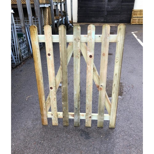 Picket Gate Treated Softwood 4' / 1220mm