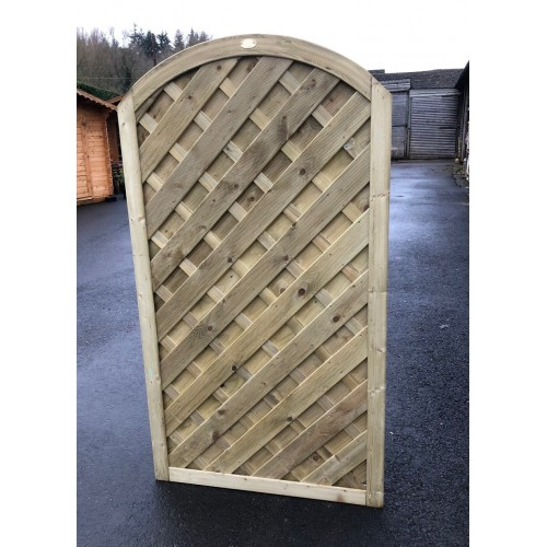 Madrid Curved Top Gate 3' 3'' / 6'