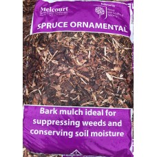 Spruce Ornamental Bark Mulch