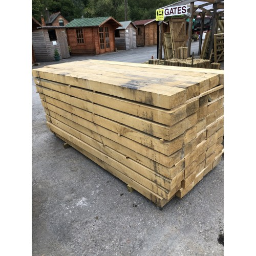 Oak Landscape sleepers 2.4m x 200mm x 100mm