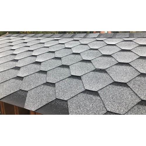 Bitumen Roof Shingle Black
