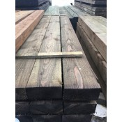 150mm x 75mm pressure treated softwood post (1)